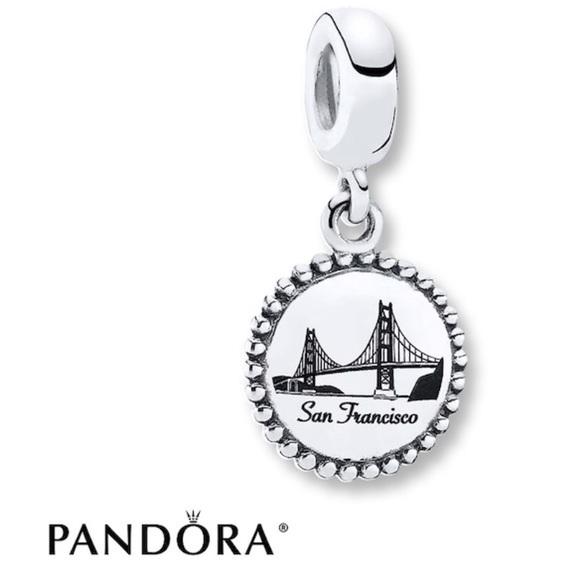 Pandora Jewelry San Francisco Golden Gate Bridge Charm Poshmark